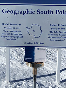 PRIMA Home Test at the South Pole