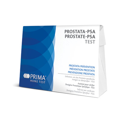 Prima Home Test packaging